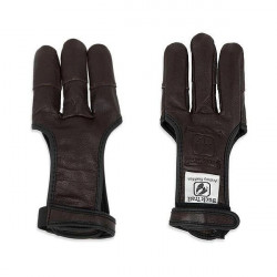 Shooting glove BUCK TRAIL FULL PALM DEERSKIN