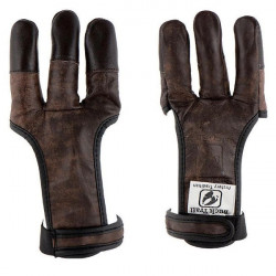Shooting glove BUCK TRAIL FULL PALM BROWN BUFFALO